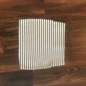 BCBGeneration striped pencil skirt
